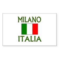 Milano, Italia Rectangle Decal