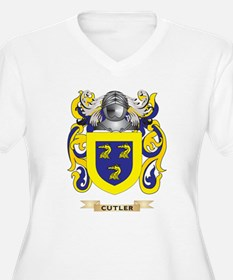 Cutler Coat of Arms Plus Size T-Shirt