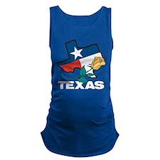 Texas Maternity Tank Top