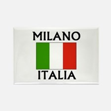 Milano, Italia Rectangle Magnet