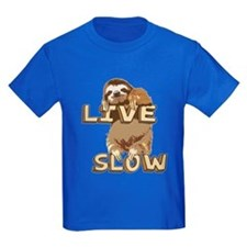 Funny Sloth - LIVE SLOW T-Shirt
