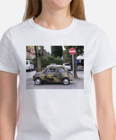 Mini FIAT in camouflage Tee