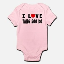 I Love Tang Soo Do Infant Bodysuit