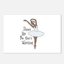 Dance Like No Ones Watching Postcards (Package of
