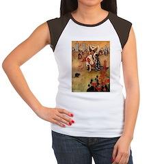 Hudson 8 Women's Cap Sleeve T-Shirt