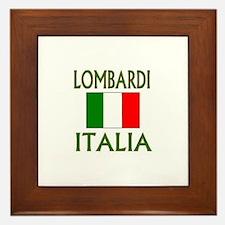 Lombardi, Italia Framed Tile