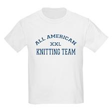 AA Knitting Team Kids T-Shirt