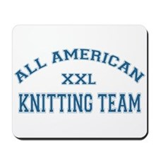 AA Knitting Team Mousepad