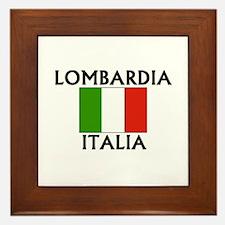 Lombardia, Italia Framed Tile