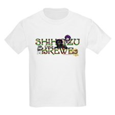 Shih Tzu Mardi Gras Krewe Kids T-Shirt