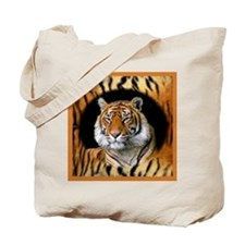 Tiger Design Tote Bag