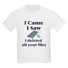Computer Tech Kids T-Shirt