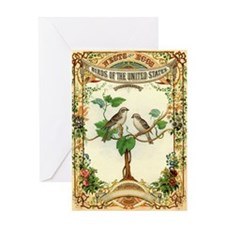 Nests & Eggs Greeting Card