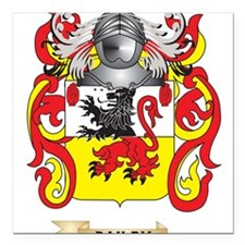 """Dailey Coat of Arms Square Car Magnet 3"""" x 3"""""""