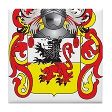 Dailey Coat of Arms Tile Coaster