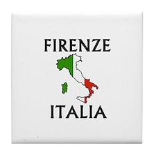 Firenze, Italia Tile Coaster