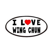 I Love Wing Chun Patches