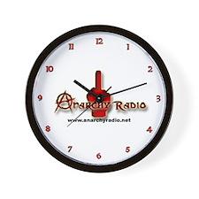 ANARCHY RADIO Wall Clock