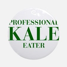 professional-kale-eater-bod-green Ornament (Round)
