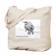 Feathered Friend - Wren Tote Bag