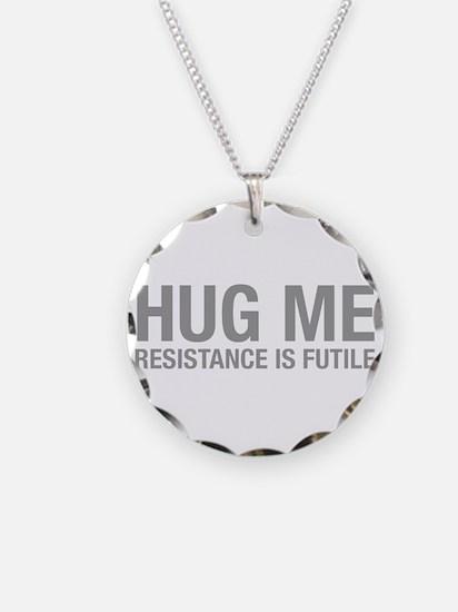 hug-me-HEL-GRAY Necklace