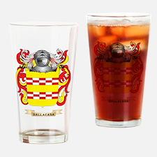 Dalla Casa Coat of Arms Drinking Glass