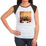 Hudson 5 Women's Cap Sleeve T-Shirt