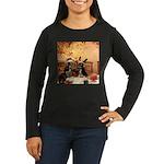Hudson 5 Women's Long Sleeve Dark T-Shirt