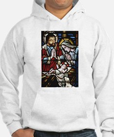 Holy Family Stained Glass Hoodie
