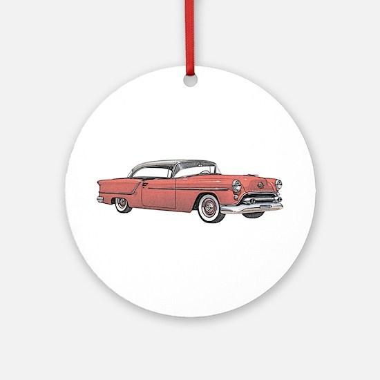 1954 car Ornament (Round)