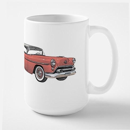 1954 car Large Mug
