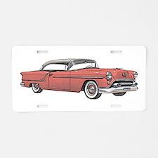 1954 car Aluminum License Plate