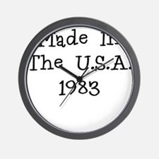 Made in the usa 1983 Wall Clock
