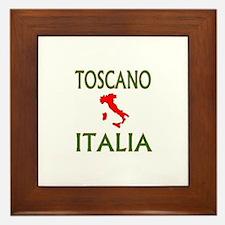 Tosacano, Italia Framed Tile