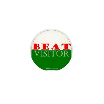 Beat Visitor | Mini Button (10 pack)