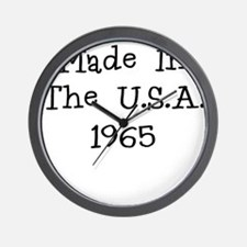 Made in the usa 1965 Wall Clock