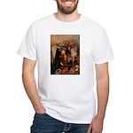 Hudson 4 White T-Shirt