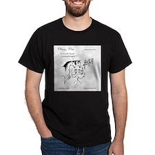 WhinnynWine.com Organic Wine Cartoon T-Shirt