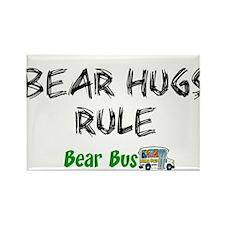 Bear Hugs Rectangle Magnet