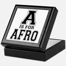 A is for Afro Keepsake Box