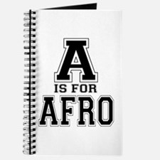 A is for Afro Journal