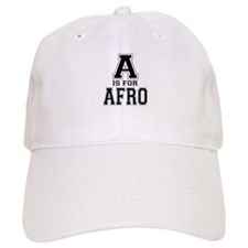 A is for Afro Baseball Cap
