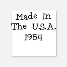 Made in the usa 1954 Sticker