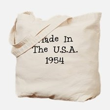 Made in the usa 1954 Tote Bag