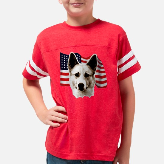 canaan dog Youth Football Shirt