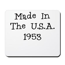 Made in the usa 1953 Mousepad