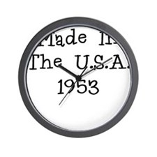Made in the usa 1953 Wall Clock