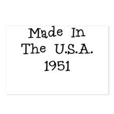 Made in the usa 1951 Postcards (Package of 8)