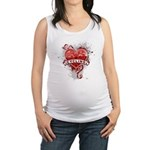 Heart Cycling Maternity Tank Top