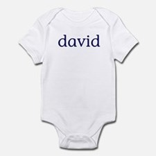 David Infant Bodysuit